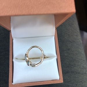Pre-owned Misa Circle Ring 14k gold